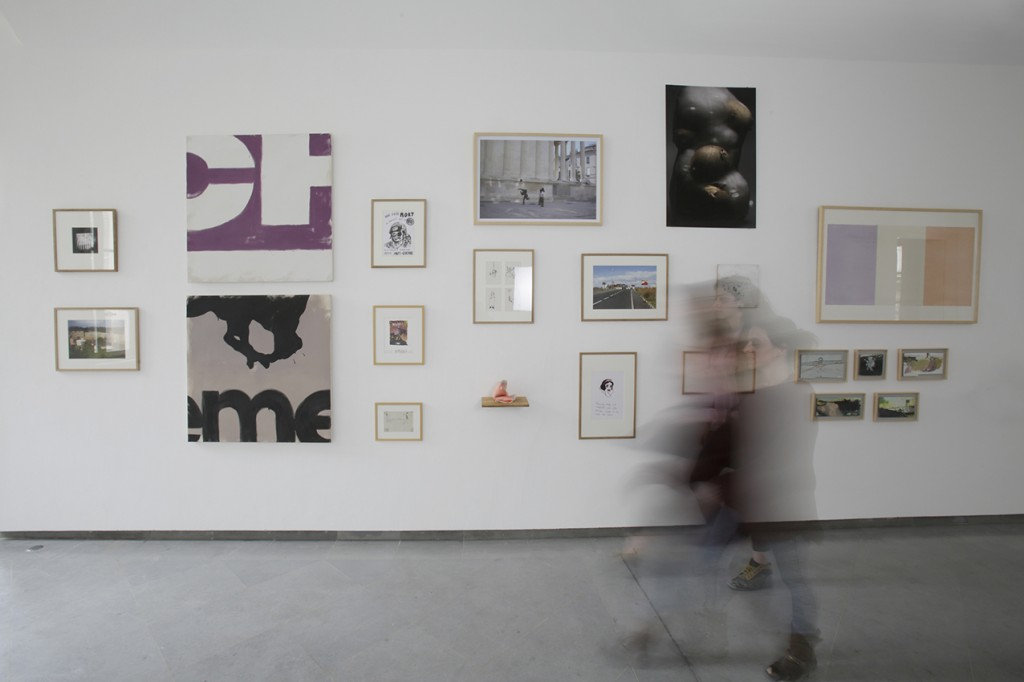 Vue de l'exposition Être et Avoir #2. Photo : Florent Gardin 2015